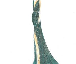 elie saab and fashion illustration image