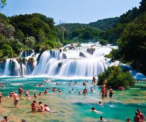 summer, Croatia, and water image