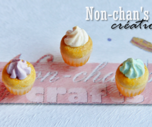 clay, colourful, and cupcake image