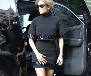 Jennifer Lopez, stylish, and chic outfit image
