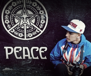 swag, peace, and boy image