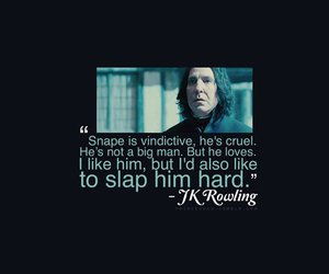quote, snape, and harry potter image