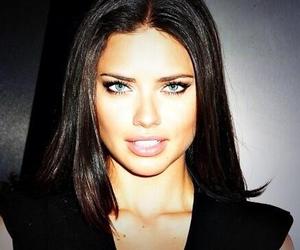Adriana Lima, eyes, and beautiful image