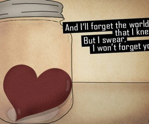 heart, jar, and Owl City image