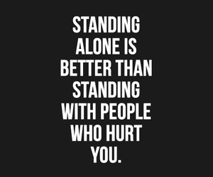 alone, hurt, and quote image