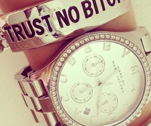 bitch, trust, and fashion image
