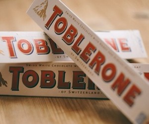 chocolate, sweet, and toblerone image
