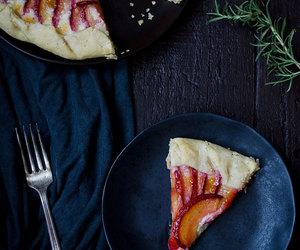 dessert, food, and galette image