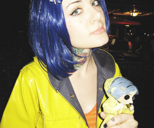 coraline, tattoo, and girl image