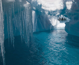 ice, nature, and water image