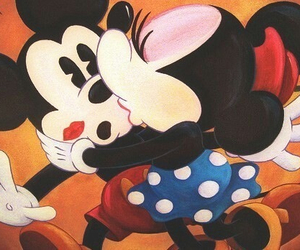 love, disney, and kiss image