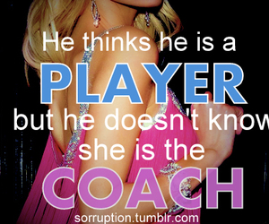 girl, quote, and player image