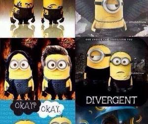 harry potter, tfios, and minions image