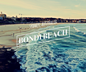 australia, beach, and Sydney image