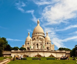 amazing, church, and sacre couer image
