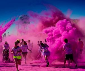 pink, color, and fun image