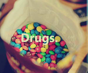 chocolate, drugs, and m&ms image