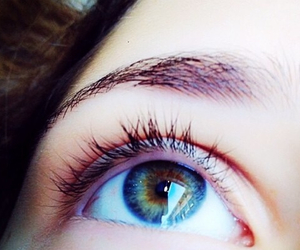 blue, eyes, and multicolored image