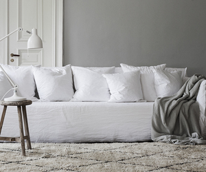 decor, pillow, and relax image