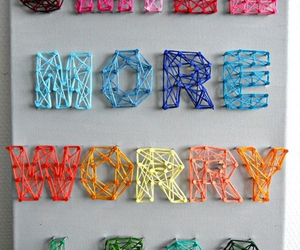 diy, smile, and worry image