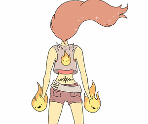 adventure time, punk, and flame princess image