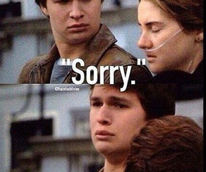 tfios, the fault in our stars, and sorry image