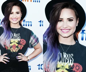 demi lovato, hair, and love image