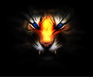 awesome, beast, and black background image