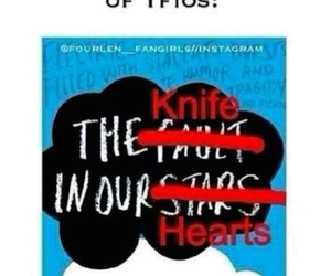 tfios, the fault in our stars, and john green image