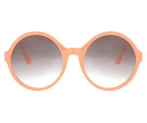 color, glasses, and peach image