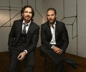 christian bale and tom hardy image