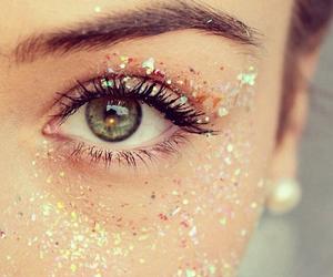 glitter, eyes, and eye image