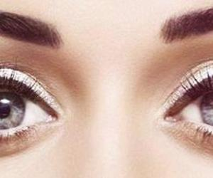 eye makeup, gray eyes, and katy perry image