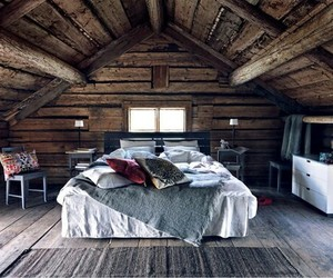 bedroom, winter, and vocation image