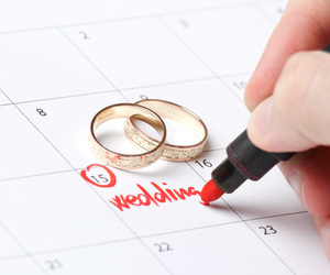 wedding and rings image
