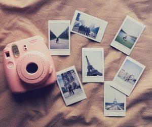 pink, camera, and photo image