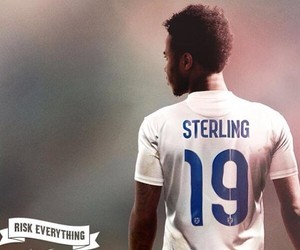 sterling, raheem, and england image