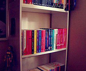 bookcase, bookshelf, and meg cabot image