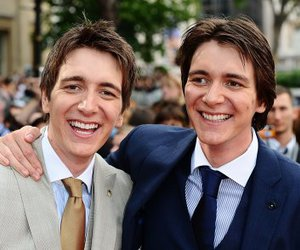 harry potter, twins, and james phelps image