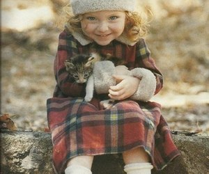 cat, child, and kids image