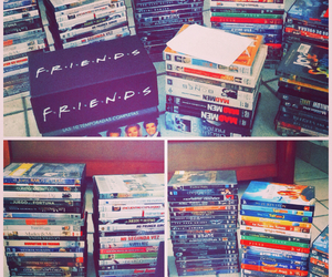 collection, friends, and movies image