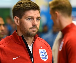 soccer, Steven Gerrard, and world cup image