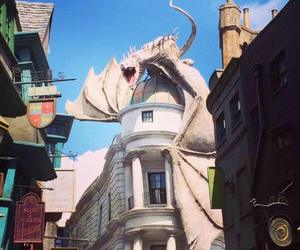 harry potter, dragon, and film image