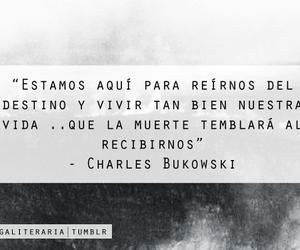 muerte, books, and Bukowski image