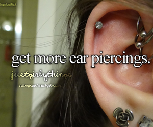 ear, fashion, and in love image