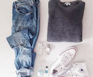clothes, outfit, and converse image