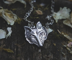 animal, necklace, and silver image
