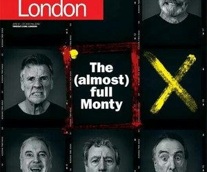 Eric Idle, John Cleese, and michael palin image