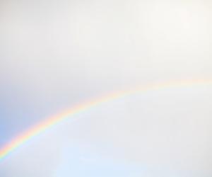 nature, rainbow, and sky image
