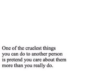 cruel, quote, and love image